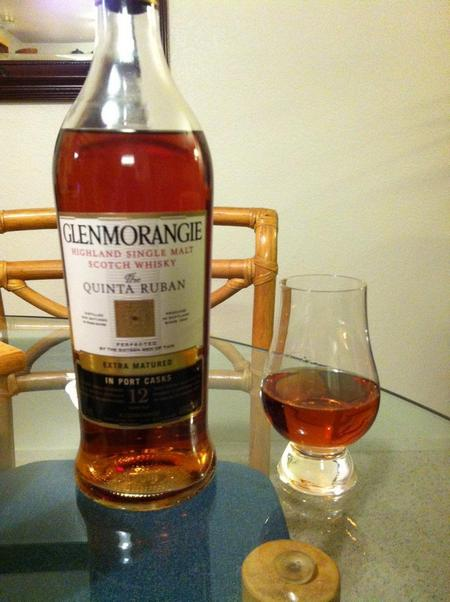 Glenmorangie Quinta Ruban Highland Single Malt Scotch
