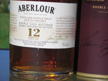 Aberlour 12 Sherry Cask ScotchWhisky1