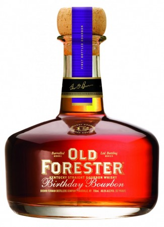 old-forester-birthday bourbon 2013